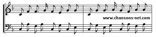 Dans La Foret Un Grand Cerf Regardait Par La Fenetre Of Chansons Enfantines
